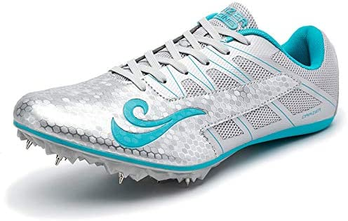ZLYZS Unisex Track Shoes Spikes, Youth