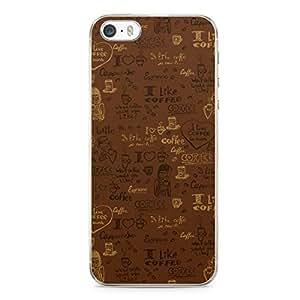 Tea Time iPhone 5s Tranparent Edge Case - Design 6