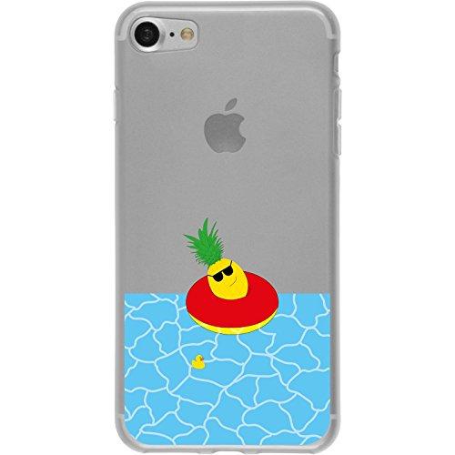 PhoneNatic Apple iPhone 7 / 8 Custodia in Silicone estate M2 Case iPhone 7 / 8 + pellicola protettiva