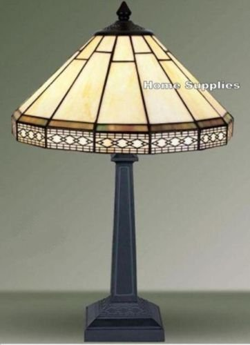 Mission tiffany style stained glass table lamp amazon lighting mission tiffany style stained glass table lamp aloadofball