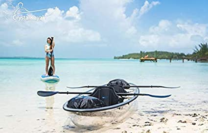Amazon.com: Kayak/canoa transparente Crystal Explorer de The ...