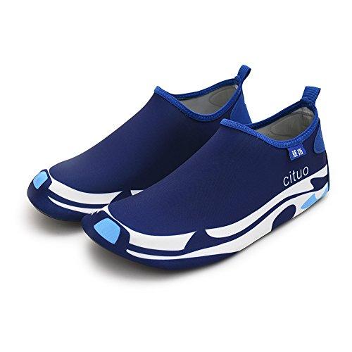 amp; for Men Adult Barefoot Swimming Sock White Gungun Blue Aqua Water Women Shoes O0SfwPq