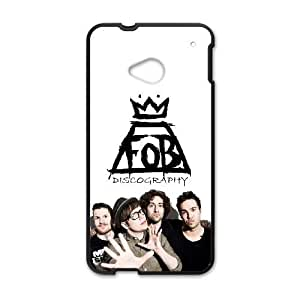 HTC One M7 Phone Case Black Fall out boy ZKH9377169