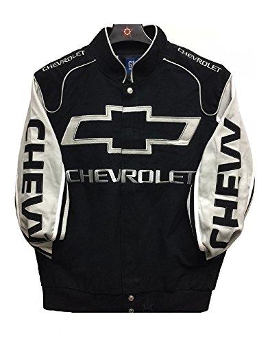 - J.H. Design Chevy Racing Cotton Jacket JH Design Size Large