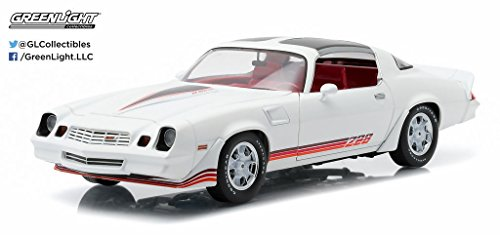 Greenlight New 1:18 Collection - White 1981 Chevrolet Camaro Z28 Diecast Model Car