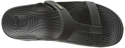 ELLA COMFORT Black PATH CROCS Sandal Black black SFdqUAxU