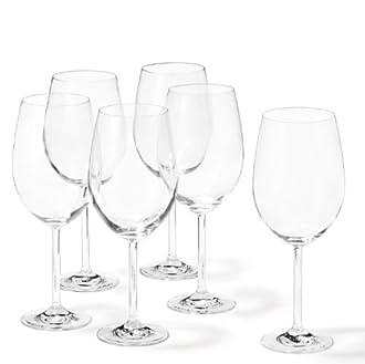 Bordeauxglas Bild