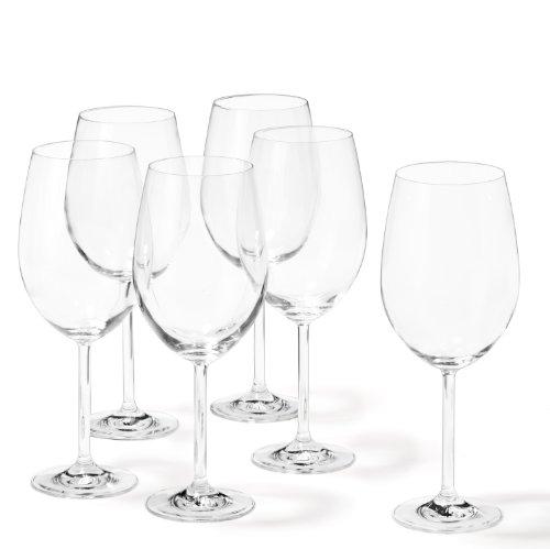 Leonardo 35240 Bordeauxglas Set Daily 6-teilig