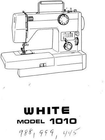 Descargar Pdf-File Singer W988 W999 W1010 W1210 Máquina de coser ...
