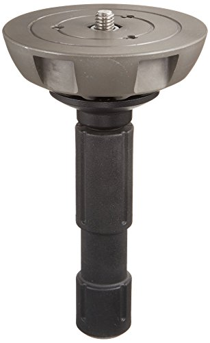 - Manfrotto 500BALL 100mm Half Ball Leveler with 3/8-Inch Screw for 100mm Bowl Tripods - Replaces 3141BALL (Black)