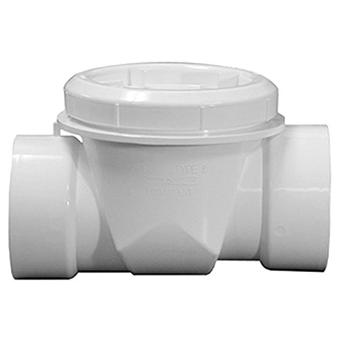 Jones Stephens Corp - 6 Pvc Backwater Valve by Jones Stephens