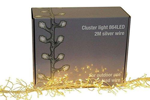 Hochwertige Weihnachtsbeleuchtung.Hochwertige Cluster Mikrolichterkette Ip44 Stecker Outdoor