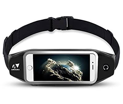 Running Belt / Waist Pack, AIKELIDA Outdoor Sports Fanny Pack Reflective Fitness Belt Runners Bag for iPhone 7/6/6S/6S Plus, Samsung Galaxy S5/S6/S7 Edge