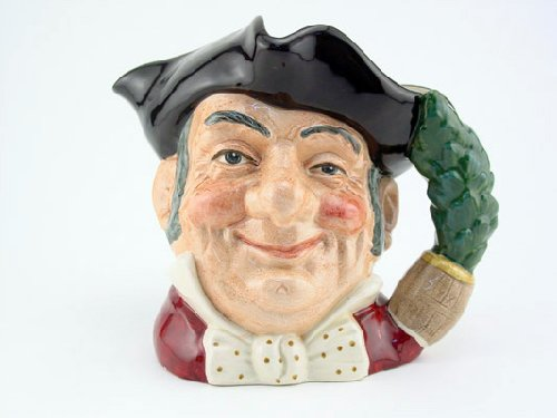 Doulton Large Character Jug - Royal Doulton Mine Host Large D6468 Character Jug