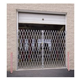 Double Folding Gate, 10'W To 12'W And 6'H by Illinois Engineered Products