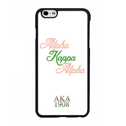 144 Pattern - Alpha Kappa Alpha Sorority Phone Case for iPhone 6 / 6s Plus,Pattern CustomHong-144, Durable Cell Phone Protective Cover for Women