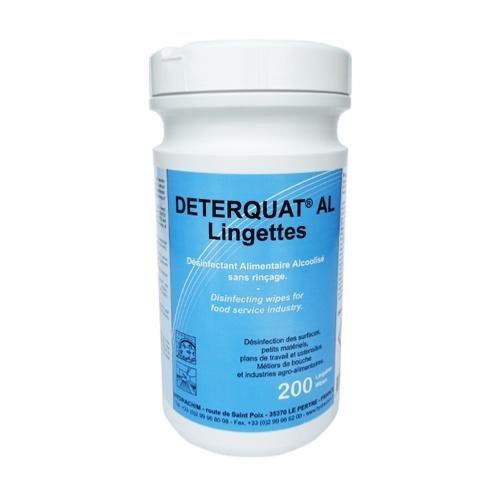 deterquat - Toallitas desinfectantes deterquat al (200 toallitas): Amazon.es: Electrónica