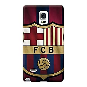 Samsung Galaxy Note 4 Fnw18517GPCf Allow Personal Design Nice Fc Barcelona Series Durable Hard Phone Case -ErleneRobinson