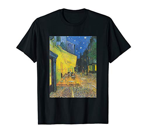 - Vincent van Gogh - Cafe Terrace at Night T-Shirt