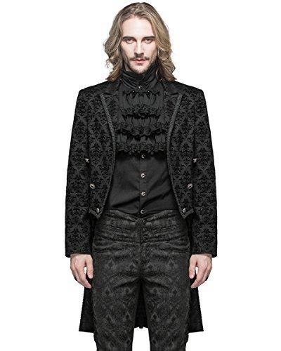 Fashion Matrimonio Uomo : Devil fashion uomo gothic frac giacca nera damasco steampunk regency