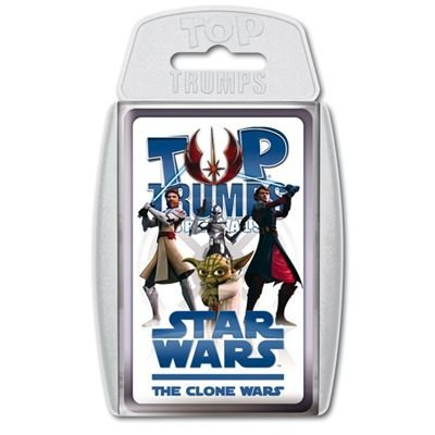 Star Wars Winning Moves 60727 Top Trumps The Clone Wars