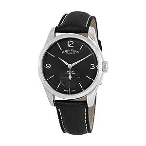 Armand Nicolet LB6 Small Seconds Limited Edition A134AAA-NR-P140NR2 - Reloj analógico de Pulsera para Hombre 12