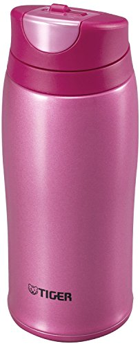 Tiger Corporation MCB-H036-PR Stainless Steel Vacuum Insulated Travel Mug, 12 oz, - Pr Pink