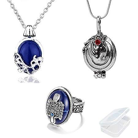 Stylish Silver Color Eye Figured Multiple Chain Necklace Elegant Glamorous- Delicate Minimalist Jewelry Minimalist