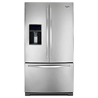 "Whirlpool WRF736SDAM 36"" 24.7 cu. ft. Stainless French Door Refrigerator"