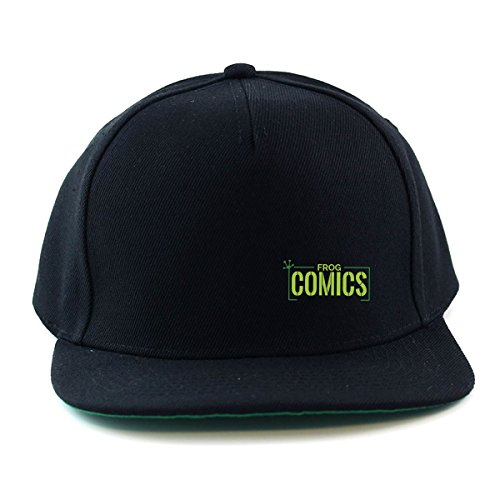 The Lost Boys: Frog Comics SML Green Snapback Cap (One Size Fits All/Black (with Black Peak)) (Schumacher Hat)