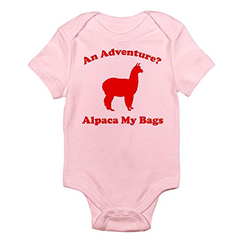 CafePress an Adventure? Alpaca My Bags Infant Bodysuit - Cute Infant Bodysuit Baby Romper by CafePress