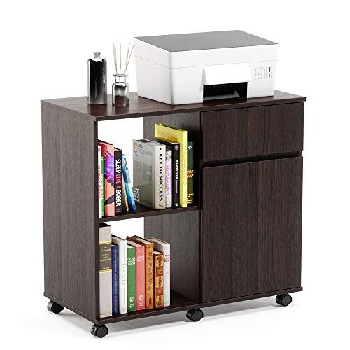 Amazon.com: Bestier - Mueble de 3 cajones con ruedas para ...