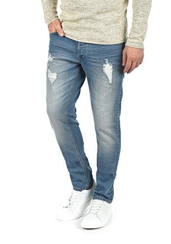 !solid Moy Jeans Denim Pantaloni Da Uomo Elasticizzato Slim- Fit Light Blue (9600)