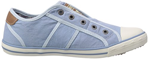 Pantofola donna 401 1099 Mustang 832 2 Pastellblu Blu da qCxtXwX