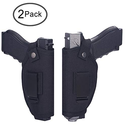 - Tenako Universal Holster Gun Concealed Carry IWB OWB Right Left Holster Fits S&W M&P Shield/Glock 26 27 29 30 33 42 43 / Springfield XD XDS/Ruger LC9 & All Similar Handguns