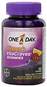 One A Day Women's Vitacraves Multivitamins, 50 Count
