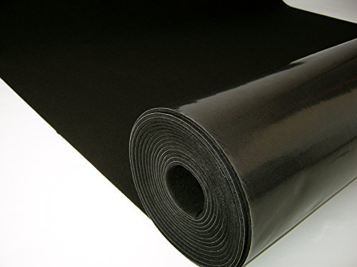 MuteX Soundproof Material (Black, 150 sqft, 5'x30')