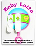 Fun Express Baby Shower Lotto Game Cards - 24 Pieces
