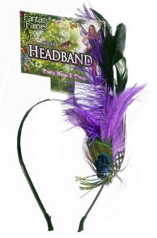 [Fantasy Fairies Peacock Headband] (Fairies Costumes For Women)