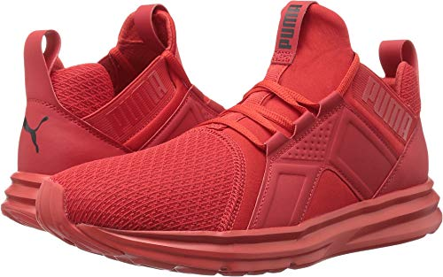 - PUMA Men's ENZO Cross-Trainer Shoe, High Risk Red, 9 M US