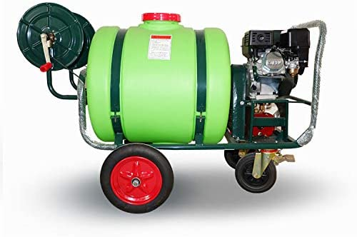 WFLRF 160L Pulverizador De Jardín Tipo De Carro Empujar Manualmente Pulverizador A Presión,  Pesticidas, Esterilización, Desinfección, Gran Capacidad, Bajo Consumo De Combustible