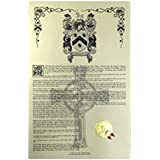 Krause Coat of Arms, Family Crest & 11x17 Print - Name Meaning Plus Genealogy, Family Tree Research Aid, Roots, Ancestry, Ancestors and Namesakes - Germany Surname Origin
