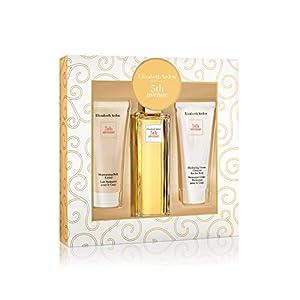 Elizabeth Arden – 5th Avenue – Coffret Eau de Parfum Femme Vaporisateur & Lait Hydratant & Nettoyant Corps – Senteur…