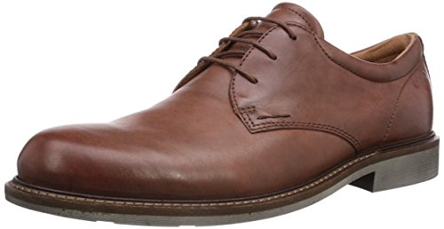 ECCO Findlay Marrone mahogany 59129 Walnut Stringate Uomo Scarpe Basse Derby wRwBq