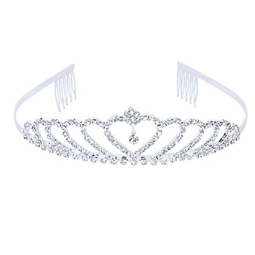 iShine Crown and Tiara Stylish Wedding Birdal Pageant Prince