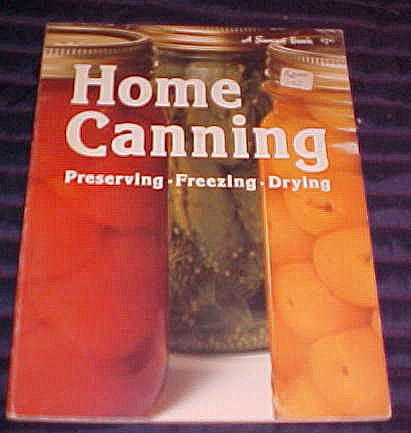 Home Canning Preserving Freezing Drying 1975 Paperback Sunset, Sunset Book