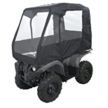 Classic Accessories 76307 QuadGear Black Deluxe ATV Cabin, Fits ATVs with racks