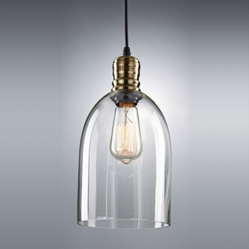 U Glass Pendant Light