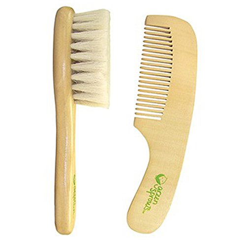 iPlay Inc., Green Sprouts, Brush & Comb Set, 2 Piece Set - 2pc