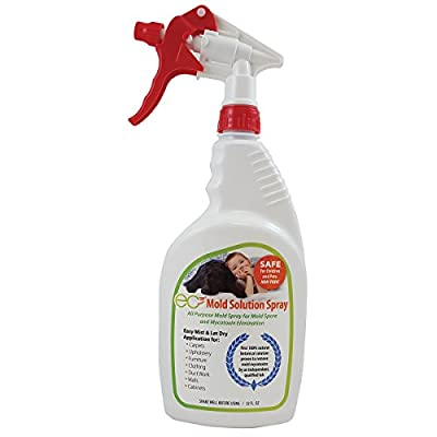 Micro Balance EC3 Mold Spray-All-Natural Botanical, Removes Mold Spores and Mycotoxins, Safe for All Materials, Surfaces and Fabrics-No Harmful Chemicals, 32 FL OZ